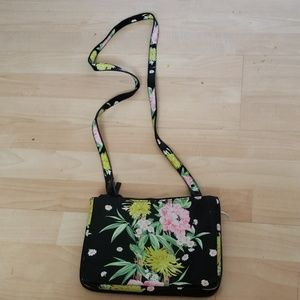 French Conection floral print crossbody bag